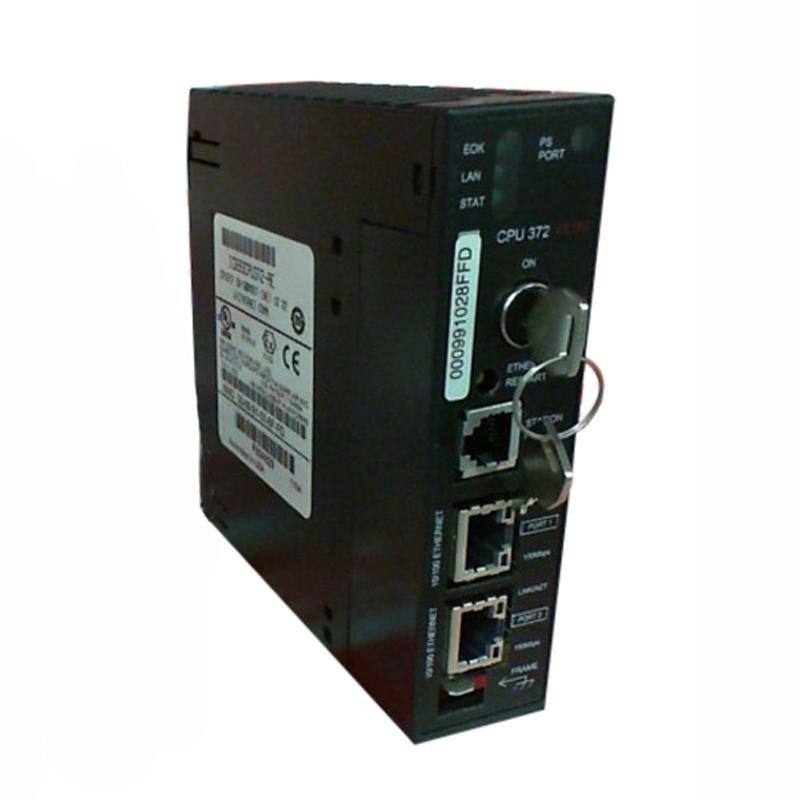 GE Fanuc IC693CPU372 90-30 Series 372 Model Web Enabled CPU Module; 2048 Analog Input, 512 Analog Output