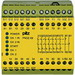 Pilz 774605 PNOZ X9 Type Emergency Stop Relay; 7 NO/2 NC, 50 Milli-Amp