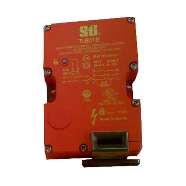 Omron 44519-1080 TL8012-S1024SM 90 Degree Versatile Safety Interlock Switch with Guard Door Locking; 24 Volt AC/DC, 2 NO/3 NC