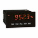 Red Lion PAXD0000 1/8 DIN PAXD Analog Input Panel Meter; 5 Amp, Red/Sunlight Readable 4-1/2 Inch Digit 0.56 Inch LED Display, 300 Volt DC