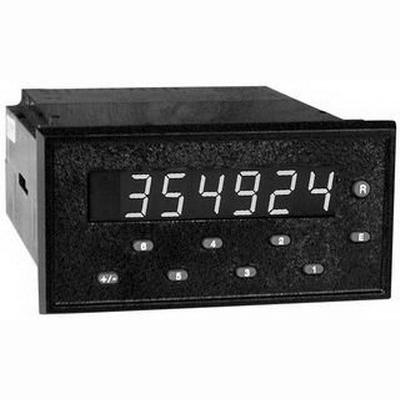 Red Lion GEM10060 Gemini 1000 6-Digit LED Display Presettable Counter; 115/230 Volt AC/11 - 14 Volt DC