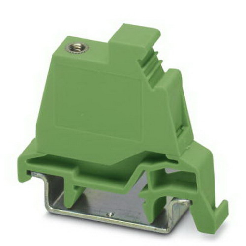 Phoenix 1850000 PCVK 4-7,62-F Flange Cover; 20 Amp, Polyamide Insulation, Green