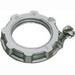 Arlington GL150 Grounding Locknut; 1-1/2 Inch, Die-Cast Zinc