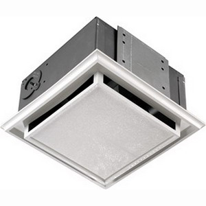 Broan Nu-Tone 682 Duct-Free Ventilation Fan; 120 Volt, 1.0 Amp, Snap-In/Ceiling/Wall Mount, White