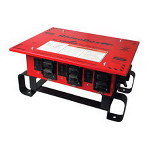 Cooper Wiring RB301ME RhinoBox™ ArrowHart™ Temporary Power Center With GFCI Protection; 50 Amp, 120/240 Volt