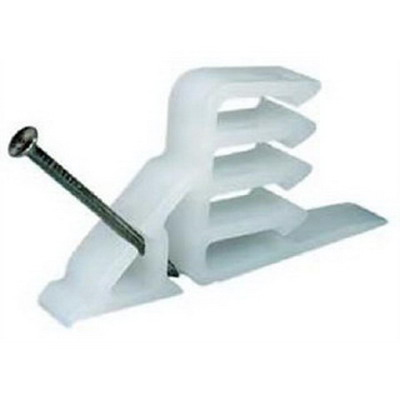 3M SI-1 Cable Stacker; Plastic, White