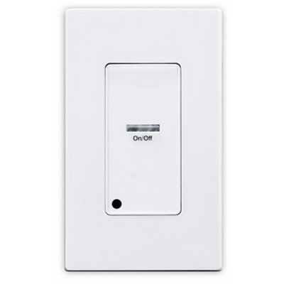 Leviton ZMDSW-1W Z-MAX™ 1 Button 1-Gang Digital Switch Pushbutton Station; 24 Volt DC, 1-Pole, White