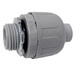 Cantex 6441004 Enviro-Flex® Straight Connector; 1-1/4 Inch, PVC