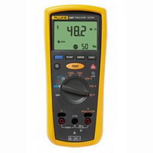 """Fluke FLUKE-1507 Insulation Resistance Tester 0.01 mega-ohm - 10 giga-ohm Resistance, 0.100 Volt AC/DC Voltage Measurement/20.000 - 2000 Ohm Earth Bond Resistance Resolution, 50/100/250/500/1000 Volt,"""""""
