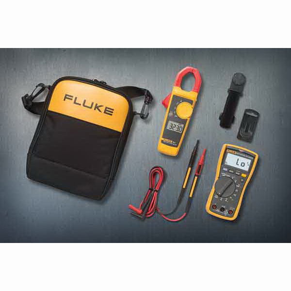 """Fluke FLUKE-117/323 Electricians Multimeter Combo Kit Includes Flukes 117 Electricians Multimeter, Fluke 323 Clamp Meter,"""""""