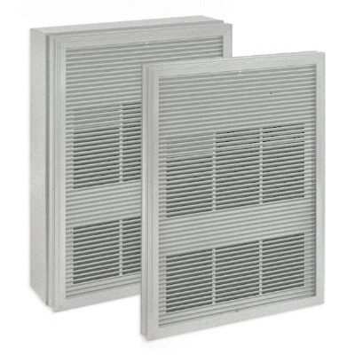 Ouellet OAWH-BSA-BL Single Unit Surface Mounting Box For An Extruded Aluminum Front Grille, Single Unit and OAWH Forced-Air Architectural Wall Heater, OACP Model Commercial Ceiling Heater, Surface, White,""
