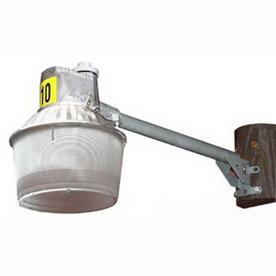 GE Lighting SAM10SL Roadway Light Fixture; 120 Volt, 100 Watt, Slipfitter Mount