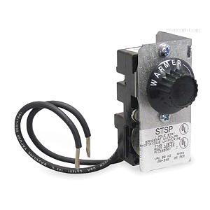 Marley QTSTSP Qmark® Thermostat Kit; 25 Amp At 120 - 240 Volt AC, 120 - 240 Volt, 1 Pole