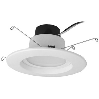 Tech-Con LED12DR5627K LED Recessed Retrofit; 120 Volt AC, 12 Watt, Ceiling Mount