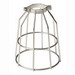 Engineered Products 16501 Safety Bulb Cage; Steel, For Commercial, Industrial, Residential and Agricultural Lighting, Temporary Lighting