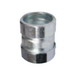 L.H. Dottie NTC250 Raintight Coupling; 2-1/2 Inch, Zinc-Plated Steel