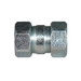 Appleton NTCC-125 Concrete-Tight Threadless Coupling; 1-1/4 Inch, Steel, Malleable Iron, Compression