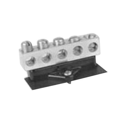 Midwest NI100B2 Neutral Lug Bar; 14-1/0 AWG Copper-Aluminum