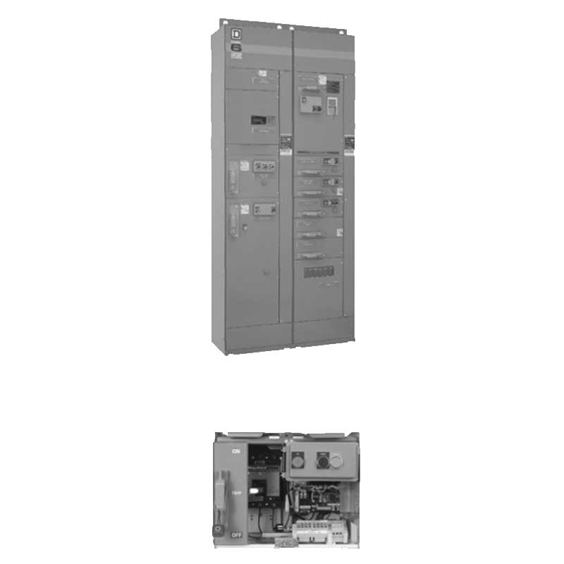 Schneider electric square d 8998sba025cftma m625hp full Square d motor control center