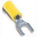 Thomas & Betts RC1157M Sta-Kon® Fork Terminal; 12-10 AWG, Yellow