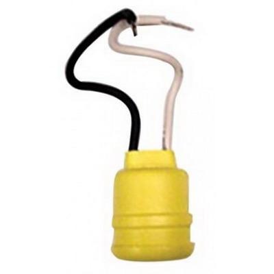 Woodhead / Molex 600 Watertite® Pigtail Socket; 600 Volt, 300 Watt, 4-1/2 Inch Lead Wire Connection