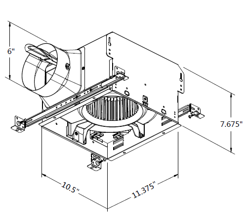 Delta Fan Smt130h Humiditymotion Sensing Fans