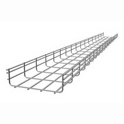 Hoffman QTP4X16 Quick Tray Pro™ Cable Tray Straight Section; 4 Inch x 16 Inch x 120 Inch, Pre-Galvanized