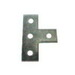 L.H. Dottie SFPT4 4-Hole Flat T-Plate Fitting; Electrogalvanized Steel