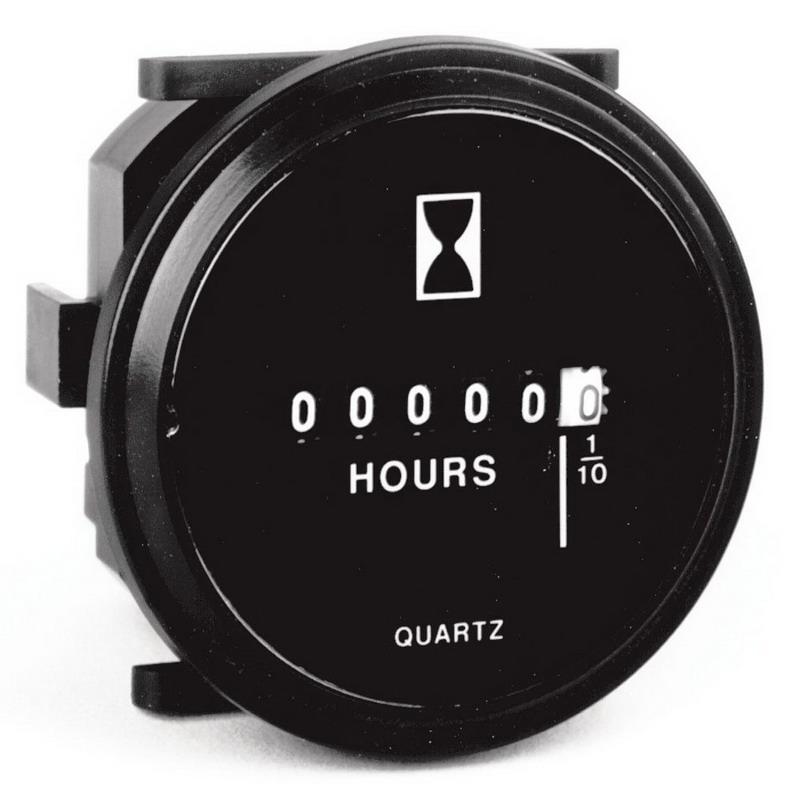 Dc Volt Hour Meter : Intermatic gz au grasslin non resetable digit analog