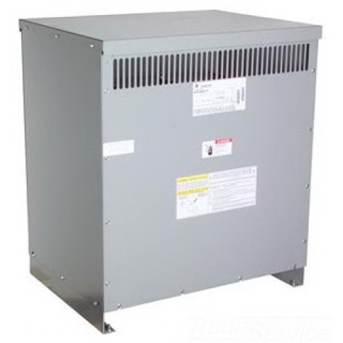 GE Transformer 9T58R2873 Dry Type Core and Coil SM Power Transformer; 120 x 240 Volt Primary, 12/24 Volt Secondary, 0.05 KVA, 1 Phase