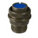 Amphenol 973108-B16S-8S Connector; 13 Amp, 500 Volt AC/700 Volt DC, Solder, Olive Drab