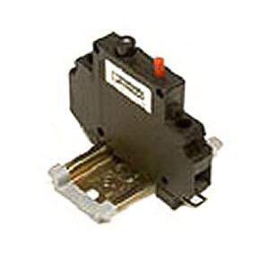 Phoenix Contact Phoenix 5600314 TMC42-01-2.0A Circuit Breaker; 250/80 Volt AC/DC, 2 Amp, Standard DIN Rail, Black