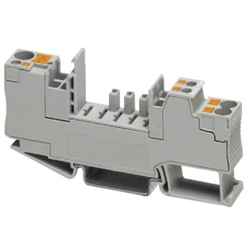Phoenix Contact Phoenix 2800929 1/6-2/4 Base Element; 300 Volt, 35 mm DIN Rail, Gray