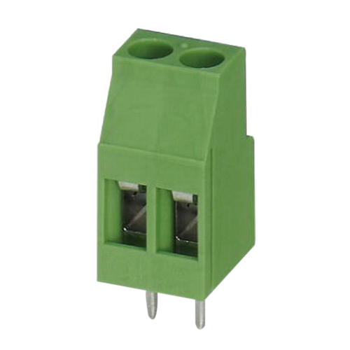 Phoenix Contact Phoenix 1711026 MKDS 3 Standard Printed-Circuit Board Terminal Block Base; 400 Volt, 24 Amp, 5 mm Space, 2 Positions, Screw Connection, Green