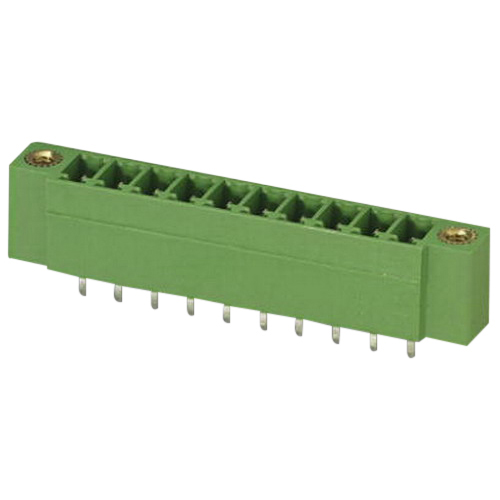 Phoenix Contact Phoenix 1844964 MCV 1,5/20-GF Base Strip; 160 Volt, 8 Amp, 3.81 mm Space, 20 Positions, Green