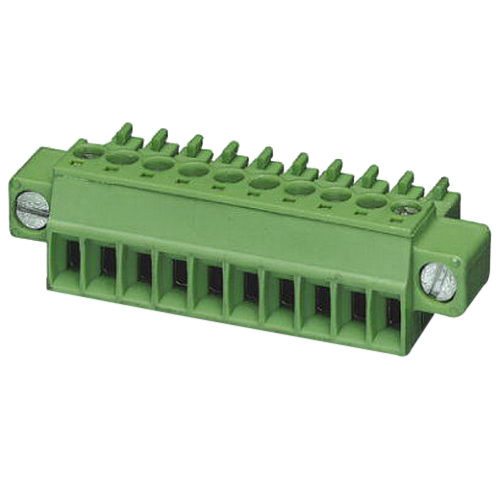 Phoenix 1848452 MC 1,5/20-STF Printed-Circuit Board Connector; 160 Volt, 8 Amp, 3.81 mm Space, 20 Positions, Screw Connection, Green