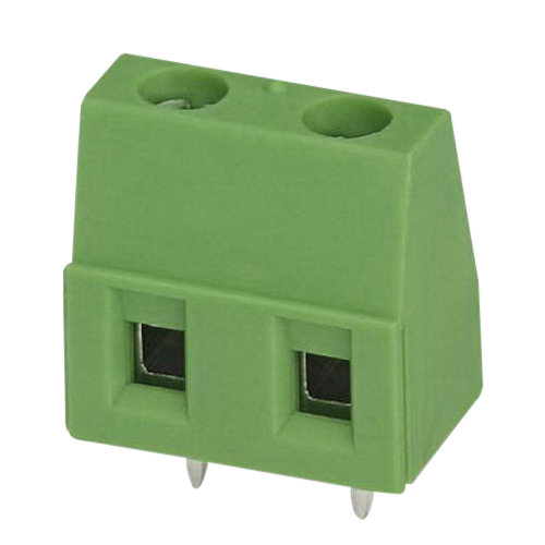 Phoenix Contact Phoenix 1717020 GMKDS 1,5 Printed-Circuit Board Terminal Block; 630 Volt, 17.5 Amp, 7.5 mm Space, 2 Positions, Screw Connection, Green