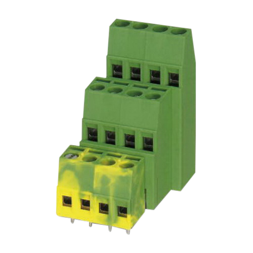 Phoenix Contact Phoenix 1724013 MK3DS 1,5 Printed-Circuit Board Terminal Block; 400 Volt, 15 Amp, 5.08 mm Space, 2 Positions, Screw Connection, Green