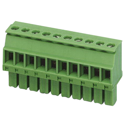 Phoenix 1862878 MCVW 1,5/4-ST Printed-Circuit Board Connector; 160 Volt, 8 Amp, 3.5 mm Space, 4 Positions, Screw Connection, Green