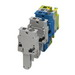 Phoenix Contact Phoenix 3042803 SP 4/ 1-M GNYE Single Level Terminal Block; 800 Volt, 32 Amp, 1 Position, 1 Contact, Green/Yellow