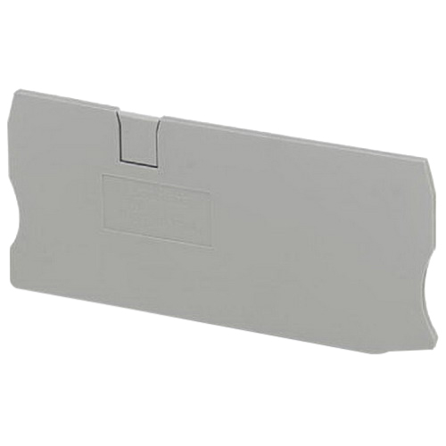 Phoenix 3035315 D-ST10-Twin Terminal Block End Cover; Gray