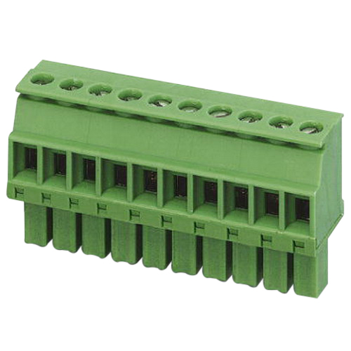 Phoenix Contact Phoenix 1862865 MCVW 1,5/-ST Printed-Circuit Board Connector; 160 Volt, 8 Amp, 3.5 mm Space, 3 Positions, Screw Connection, Green