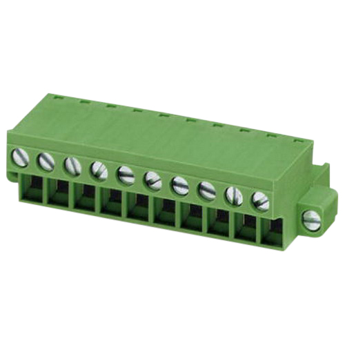 Phoenix 1777811 FRONT-MSTB 2,5/3-STF Printed-Circuit Board Connector; 320 Volt, 12 Amp, 5.08 mm Space, 3 Positions, Screw Connection, Green