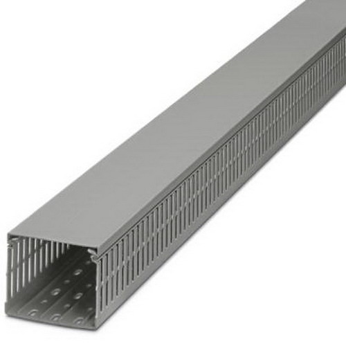 Phoenix 3240188 Cable Duct; 2000 mm x 25 mm x 40 mm, PVC, Gray