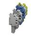 Phoenix Contact Phoenix 3060050 UP 4/ 1-M Single Level Terminal Block; 800 Volt, 32 Amp, 1 Position, 1 Contact, Screw Connection, Gray