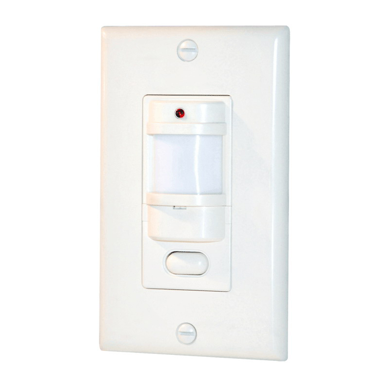 RAB LOS800I/120 Smart Switch Occupancy Sensor; 120 Volt, 800 Watt, 1000 Sq ft, Manual On/Automatic Off, Ivory, Wall Mount