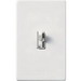 Lutron AY-10P-WH Ariadni® Single Pole Preset Slide Dimmer with Toggle Switch; 120 Volt AC, 1000 Watt, Incandescent/Halogen, White