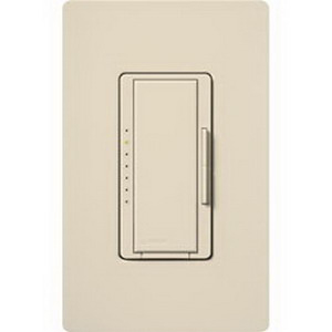 Lutron MRF2-6ELV-120-SW Maestro Wireless® Single Pole Electronic Low Voltage Tap On/Off Dimmer Switch with RF Receiver; 120 Volt AC, Snow White