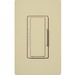Lutron MA-600-IV Maestro® Single Pole Digital Tap On/Off Fade Dimmer Switch; 120 Volt AC, 600 Watt, Incandescent/Halogen, Ivory