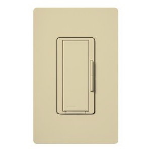 Lutron MA-R-IV Maestro® Companion Tap On/Off Dimmer Switch; 120 Volt AC, Ivory